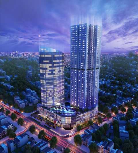 FLC Twin Towers là một trong những tòa nhà cao tầng hiếm hoi còn được phép xây dựng ở khu vực nội đô Hà Nội