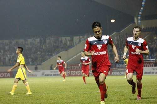 Than Quảng Ninh có chiến thắng ấn tượng trước SLNA