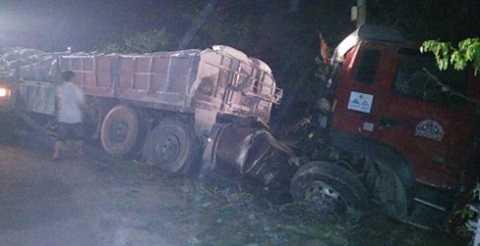 Chiếc xe kéo gây ra tai nạn liên hoàn