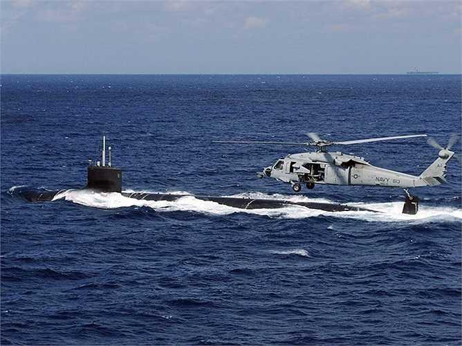 Giống như các tàu khác của lớp Virginia, tàu ngầm USS New Mexico không có cánh quạt mà bơm nước bằng máy bơm phản lực giúp nó di chuyển rất yên lặng