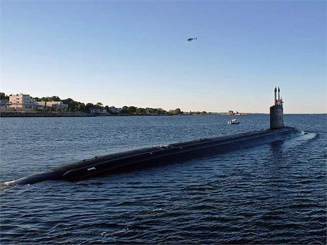 Công ty General Dynamics Electric Boat đã đóng chiếc tàu ngầm USS Missouri này, đây là 1 trong 2 công ty chuyên đóng các tàu ngầm nguyên tử lớp Virginia