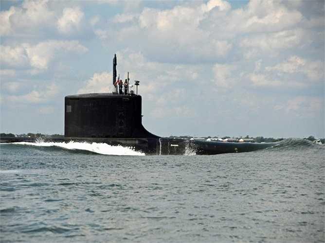 USS California, tàu ngầm mới nhất được đưa vào phục vụ, sản phẩm của công ty Huntington Ingalls Industries' Newport News