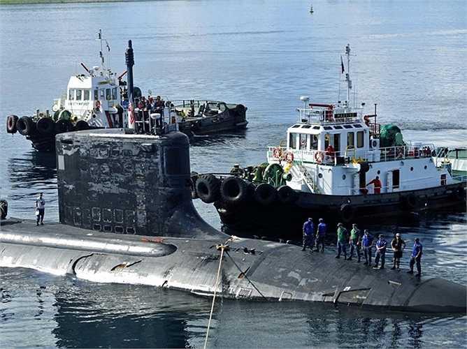 Tàu ngầm USS Texas lớp Virginia được trang bị kính ngắm quang học tiên tiến thay thế cho kính tiềm vọng truyền thống
