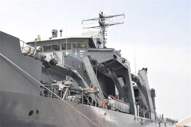 Tàu được trang bị hệ thống thiết bị hiện đại và tối tân
