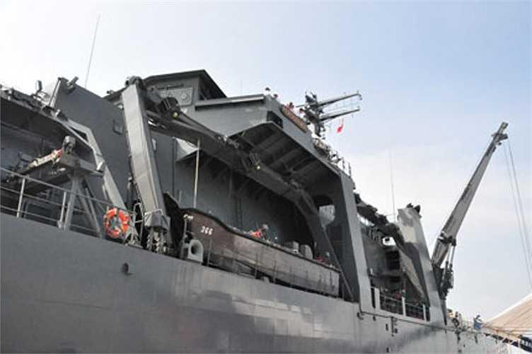 Hệ thống trang thiết bị trên tàu
