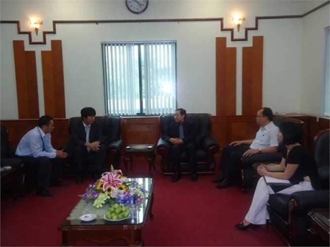 Dương Chí Dũng tiếp Bí thư thứ nhất Đại sứ quán Nhật Bản ngày 23/4/2012