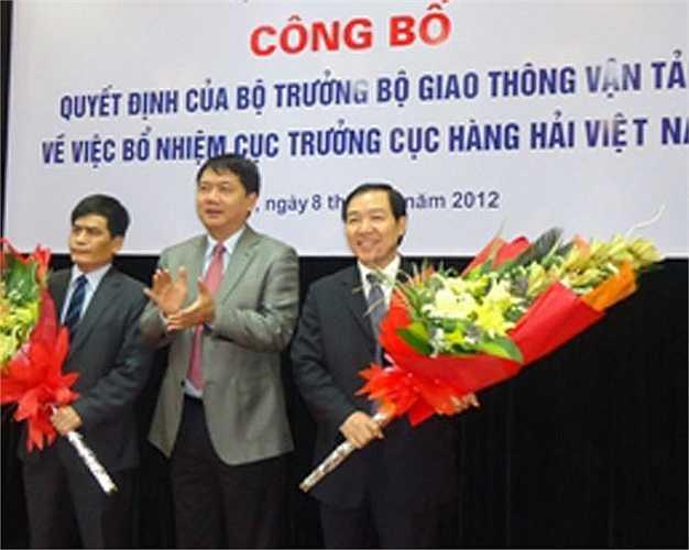 Dương Chí Dũng nhậm chức Cục trưởng Cục Hàng hải tháng 2/2012.