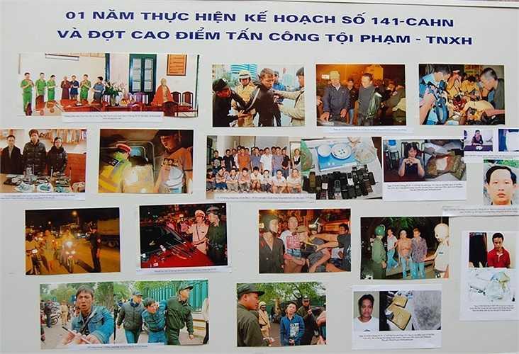 Sau 1 năm triển khai kế hoạch 141, bình yên đã về lại với TP Hà Nội. Trong thời gian tới, CATP Hà Nội sẽ tăng cường 15 tổ công tác đặc biệt để phòng ngừa và trấn áp tội phạm.