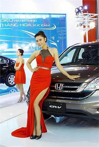Honda được cho là đã mang đến đội ngũ PG xinh xắn nhất tại triển lãm năm nay