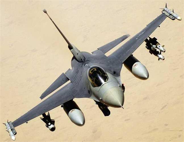 Máy bay tiêm kích F-16 hiện đang được Không quân Mỹ lên kế hoạch nâng cấp