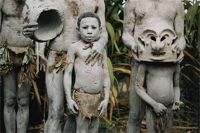 Người dân tộc Asaro tham gia lễ hội Garoka ở quốc đảo Papua New Guinea