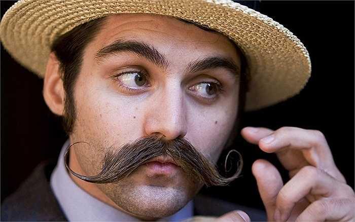 Kiểu râu của các quý ông người Anh trong cuộc thi râu đang được tổ chức tại nước này