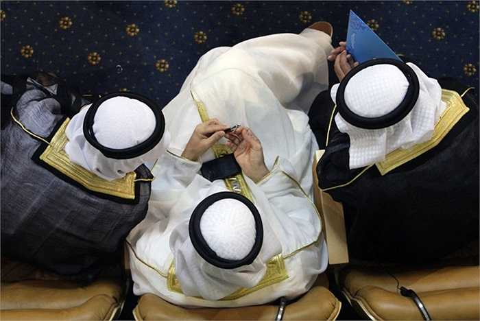 Đại biểu Arab tham dự hội nghị thượng đỉnh Phong trào Không Liên kết tại Tehran, Iran