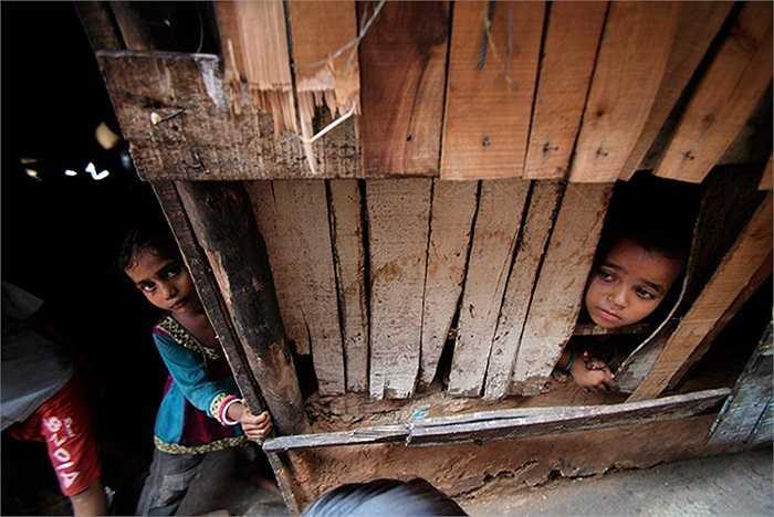 Trẻ em ở Jammu, Ấn Độ