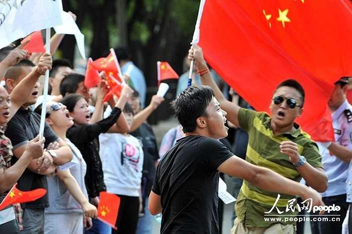 Những cuộc biểu tình nổ ra ở nhiều thành phố của Trung Quốc