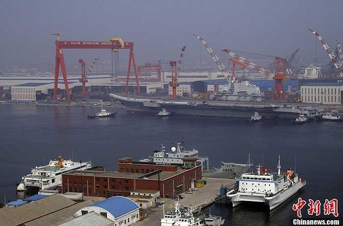 Liêu Ninh là tên tỉnh nơi tàu này neo đậu và được tân trang, nâng cấp
