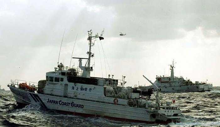 Tàu tuần duyên Nhật được điều động để chặn tàu cá Đài Loan, Trung Quốc