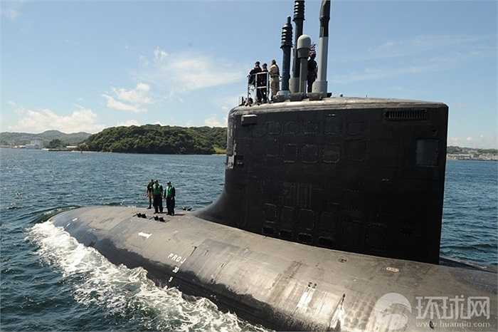 USS Hawaii là một trong những tàu ngầm hạt nhân chiến lược của Mỹ