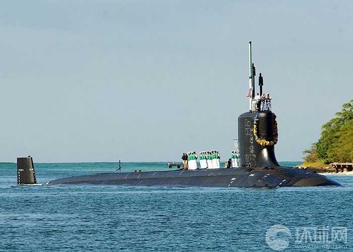 Đây không phải lần đầu tiên tàu ngầm hạt nhân Mỹ tới cảng Subic