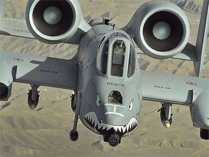 A-10 Thunderbolt II được giới thiệu lần đầu tiên vào năm 1977