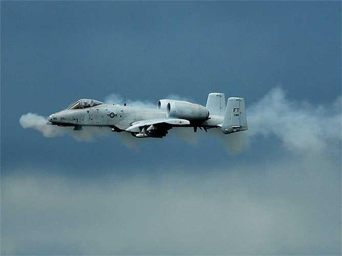Lượng đạn của súng GAU-8 trên máy bay là 1.174 viên ở mỗi lần xuất kích