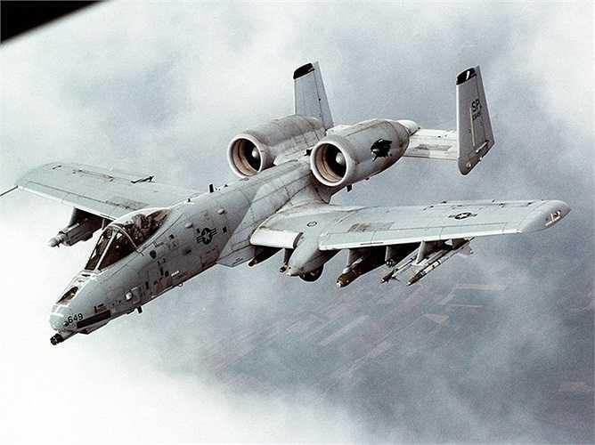 A-10 có khả năng hỗ trợ từ xa rất tốt cho các lực lượng mặt đất