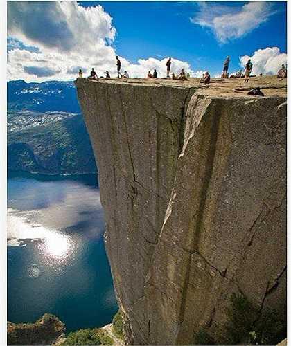Vịnh Geiranger là thắng cảnh được du khách đến thăm nhiều nhất Na Uy
