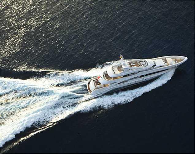Khán giả được gặp lại du thuyền Satori - chủ nhân giải thưởng Thiết kế đẹp nhất Lễ hội Monaco năm ngoái.(Ảnh: Monaco Yacht Show)