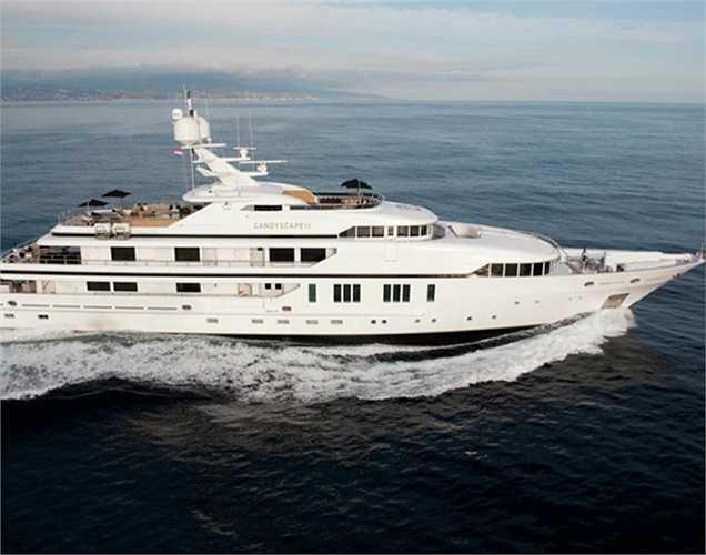 Edmiston & Company đang rao bán chiếc du thuyền Candyscape dài gần 62m này với giá 61,6 triệu USD.(Ảnh: Monaco Yacht Show)