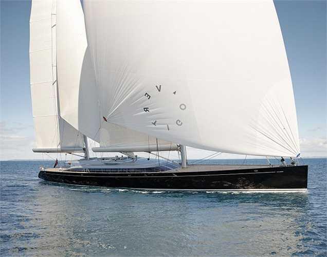 Chiếc du thuyền Vertigo đã giành giải Thiết kế đẹp nhất Lễ hội du thuyền Monaco năm nay. (Ảnh: Monaco Yacht Show)