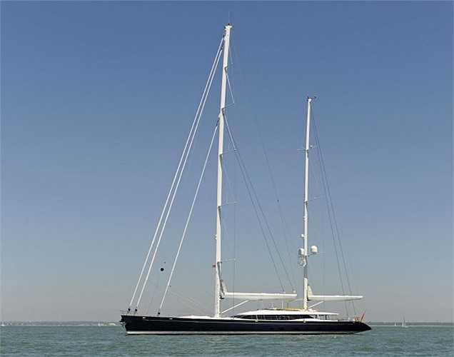 Du thuyền Mondango có chiều dài gần 52m, với phòng ngủ dành cho 10 khách.(Ảnh: Monaco Yacht Show)