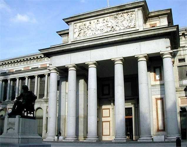 Bảo tàng Prado trị giá 74,409 tỷ USD, là nơi trưng bày một trong những bộ sưu tập lớn nhất, ấn tượng nhất trên thế giới. Prado nổi tiếng các tác phẩm của nghệ sĩ Tây Ban Nha như: Goya, Velasquez, Murillo và E. I Greco.