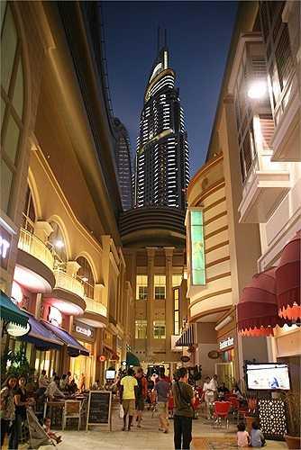 Grove là điểm dừng chân của mọi du khách khi tới Dubai Mall bởi các nhà hàng và đủ loại đồ ăn đều tập hợp ở đây. Du khách có thể thưởng thức ẩm thực Âu, Á, Địa Trung Hải...