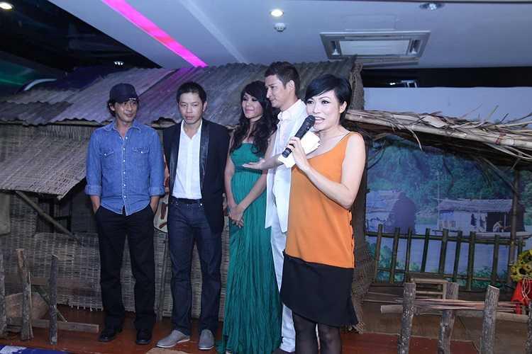 Phương Thanh là khách mới và đảm nhận MC