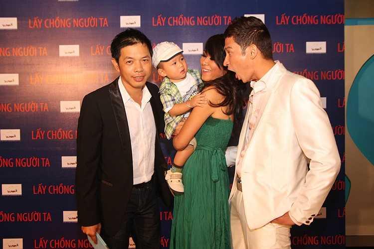 Các diễn viên trong phim: Thái Hòa, Đinh Y Nhung, Huy Khánh