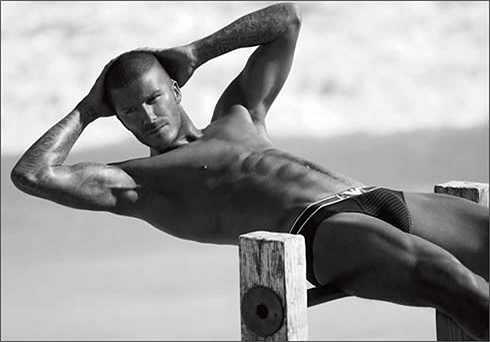 Beckham có ý thức giữ gìn hình ảnh rất tốt