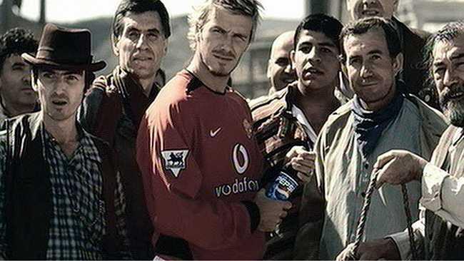 Beckham vẫn là hình tượng mà Pepsi dùng để chinh phục khách hàng khó tính