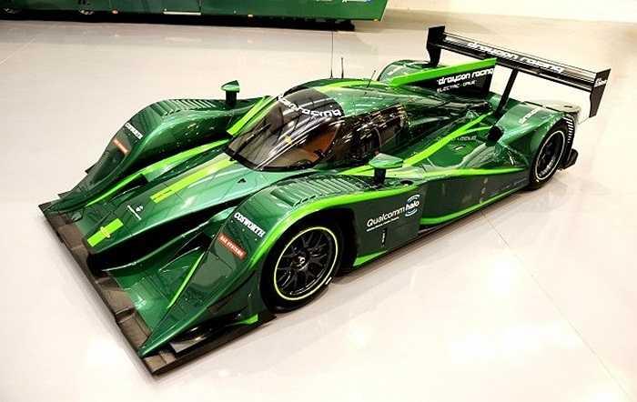 Hình ảnh chiếc xe Formula E, thế hệ xe đua chạy động cơ điện dự kiến sẽ bắt đầu được tổ chức giải vào năm 2014