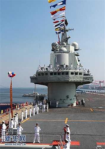 Varyag là tên cũ của con tàu này khi Trung Quốc mua lại của Ukraine từ cuối những năm 1990