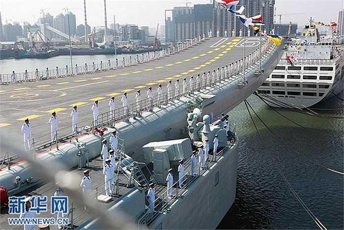 Trung Quốc bắt đầu lên kế hoạch đặt tên cho tàu sân bay đầu tiên từ tháng 7/2011