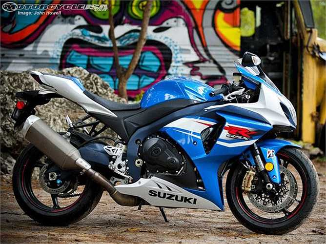 Tại Mỹ, Suzuki GSX-R1000 có giá 13.799 USD.