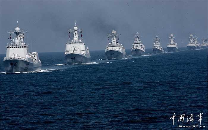 Hạm đội tàu chiến của hải quân Trung Quốc