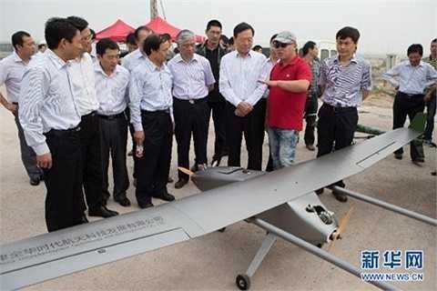 Giới chức nước này đã thử nghiệm máy bay không người lái ở cảng Vân Liên, tỉnh Giang Tô, Trung Quốc