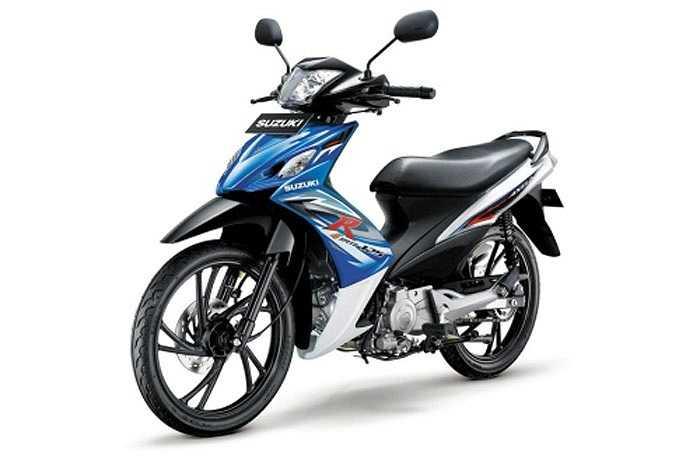 Shogun Axelo mới ra mắt tại Indonesia hồi tháng 5 vừa qua. So với Exciter, Shogun Axelo có vẻ kém bắt mắt hơn khi có dáng dấp của Suzuki X-bike, dòng xe không thành công ở Việt Nam nhưng nhiều khả năng Axelo sẽ được trang bị động cơ có  công suất mạn
