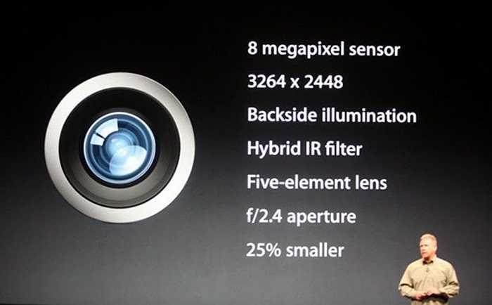 Ngay sau khi thông tin chi tiết về iPhone 5 được công bố trên trang web chính thức của Apple, một số ảnh chụp bằng camera 8 MP của iPhone 5 đã được tiết lộ.