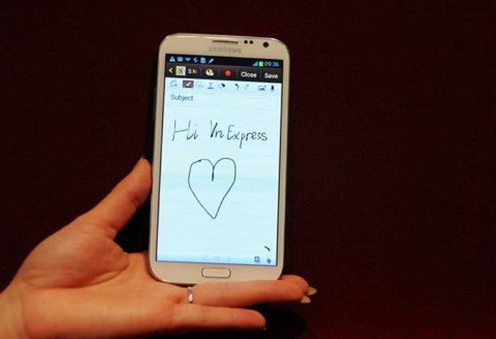 Galaxy Note II vừa được Samsung công bố tại sự kiện Mobile Unpacked 2012 diễn ra trong khuân khổ triển lãm công nghệ IFA 2012 ở thành phố Berlin (Đức).