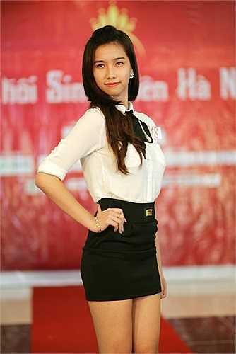 Nữ sinh Vũ Thanh Quỳnh (SBD 118) sinh năm 1994, với chiều cao nổi trội 1m73. Hiện tại Thanh Quỳnh đang dự thi Vietnam Next Top Model.