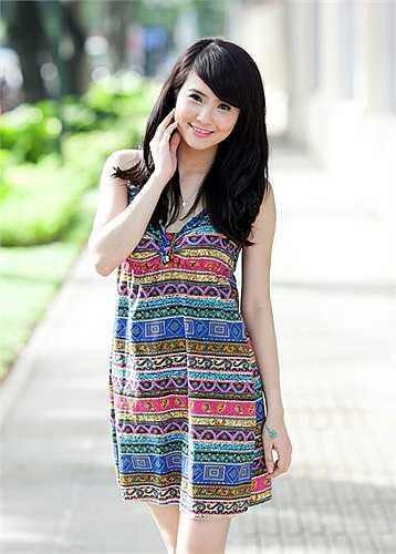 Lê Khánh Chi, em gái Công Vinh, hy vọng cuộc thi sẽ là cơ hội để mình có thể học hỏi và chứng tỏ khả năng của bản thân.
