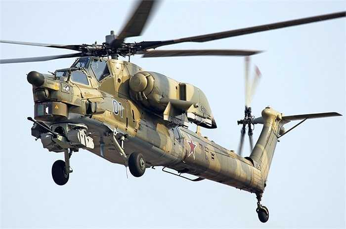 Trực thăng chiến đấu Mi-28N được thiết kế để chống lại các phương tiện mặt đất hỏa lực mạnh