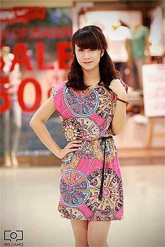 Gương mặt cực baby và đáng yêu của thí sinh Miss Teen Đoàn Thị Lan Anh.